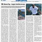 VIII. Genua Cup - tengeri vitorlásverseny
