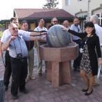 DSCF0793 Szentendre - 2011 - Tenger és szó díszkutas