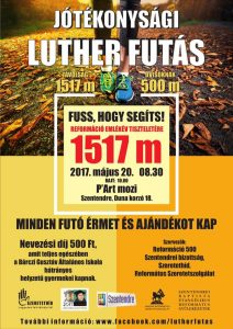 Luther futásplakát
